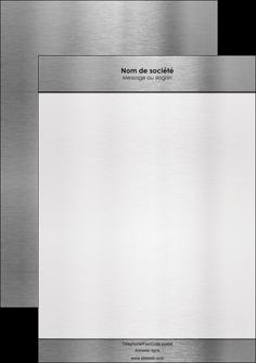 personnaliser maquette affiche securite contexture compact consistance MLGI12654