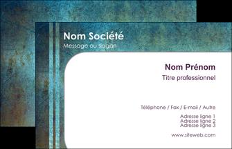 Impression carte visite avec pelliculage Musée devis d'imprimeur publicitaire professionnel Carte de Visite - Paysage