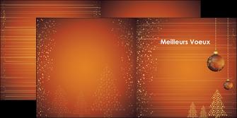 exemple depliant 2 volets  4 pages  carte de voeux 2013 voeux nouvelle annee cartes de voeux MIF12858