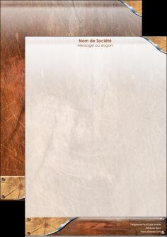 maquette en ligne a personnaliser affiche climatisation et chauffage bois wood nature MLGI13080