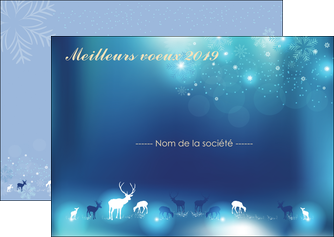 Impression Carte de voeux  Carte de voeux imprimer-carte-de-voeux-impression Flyer A6 - Paysage (14,8x10,5 cm)