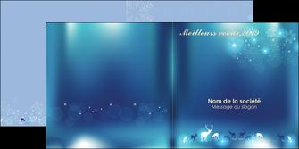 Impression Carte de voeux  Carte de voeux papier à prix discount et format Dépliant 4 pages Carré (12x12cm lorsque fermé)