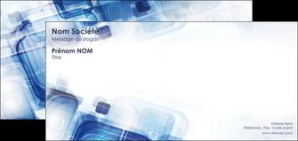 impression carte de correspondance moderne design geometrique MIF13474
