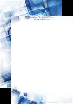 exemple affiche moderne design geometrique MIF13480