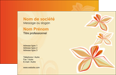 modele carte de visite fleuriste et jardinage cartes collection couleur MLGI14214
