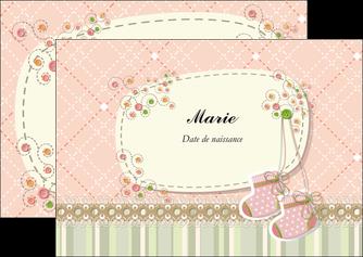 maquette en ligne a personnaliser flyers faire part de naissance carte de naissance carte naissance MIF14394