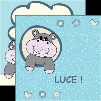 personnaliser modele de flyers bonbon dessin anime MLIG14582