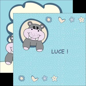 personnaliser maquette flyers bonbon dessin anime MLIG14584