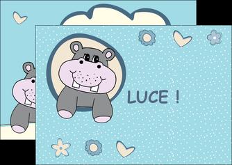 personnaliser modele de flyers bonbon dessin anime MLIG14590