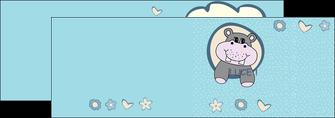 impression depliant 2 volets  4 pages  bonbon dessin anime MLIG14592