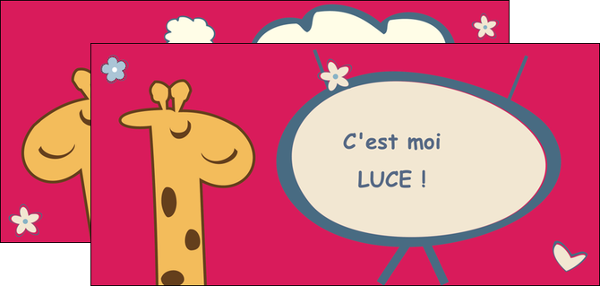 imprimerie flyers bonbon dessin anime MLIG14674