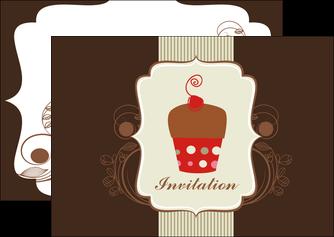 impression flyers carte d anniversaire carton d invitation d anniversaire faire part d invitation anniversaire MLGI14682