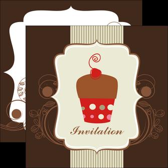 personnaliser modele de flyers carte d anniversaire carton d invitation d anniversaire faire part d invitation anniversaire MLGI14684