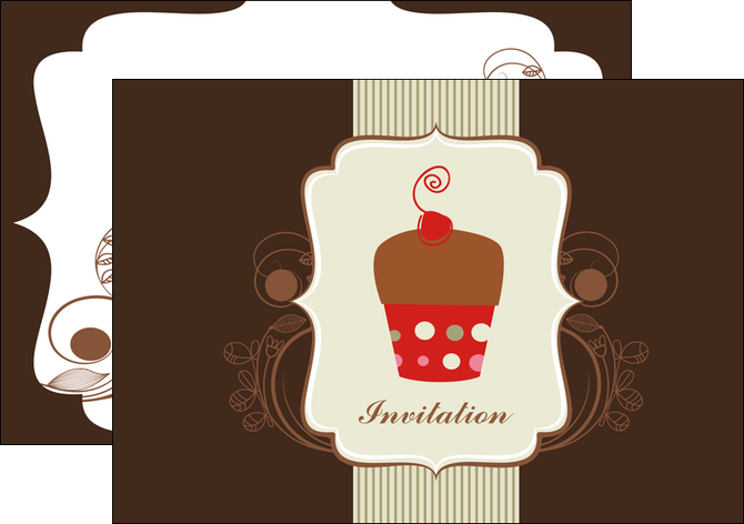 imprimer flyers carte d anniversaire carton d invitation d anniversaire faire part d invitation anniversaire MLGI14690