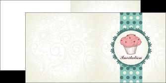 impression depliant 2 volets  4 pages  carte d anniversaire carton d invitation d anniversaire faire part d invitation anniversaire MLGI14774