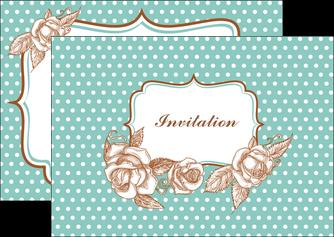 imprimerie flyers carte d anniversaire carton d invitation d anniversaire faire part d invitation anniversaire MLGI14816