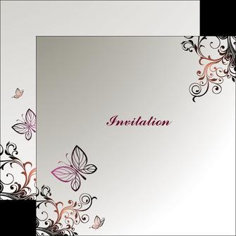 imprimerie flyers carte d anniversaire carton d invitation d anniversaire faire part d invitation anniversaire MLGI14924