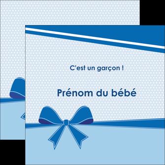 faire modele a imprimer flyers fille carte de naissance pour  garcon carton de naissance pour garcon MLIG14940