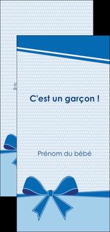 creer modele en ligne flyers fille carte de naissance pour  garcon carton de naissance pour garcon MLIG14944