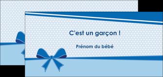 modele flyers fille carte de naissance pour  garcon carton de naissance pour garcon MLIG14946