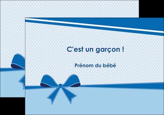 exemple flyers fille carte de naissance pour  garcon carton de naissance pour garcon MLIG14954