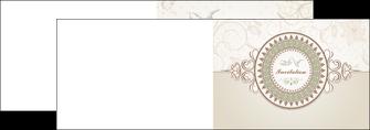 imprimerie depliant 2 volets  4 pages  anniversaire carte carte d anniversaire MLGI15014