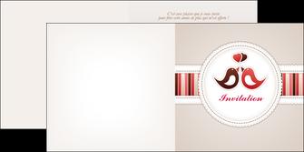 imprimerie depliant 2 volets  4 pages  carte d anniversaire carton d invitation d anniversaire faire part d invitation anniversaire MLIG15068