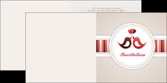 modele depliant 2 volets  4 pages  carte d anniversaire carton d invitation d anniversaire faire part d invitation anniversaire MLIG15074