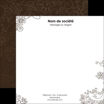 realiser flyers fleuriste et jardinage abstrait blanc design MLGI15124