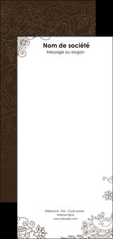 faire modele a imprimer flyers fleuriste et jardinage abstrait blanc design MLGI15126