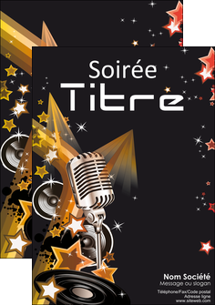 faire modele a imprimer affiche discotheque et night club isco discotheque disk MLIG15412