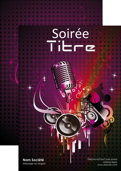 modele flyers discotheque et night club abstract adore advertise MLIG15464