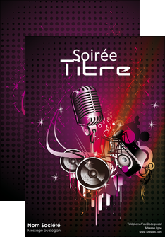 modele affiche discotheque et night club abstract adore advertise MLIG15466