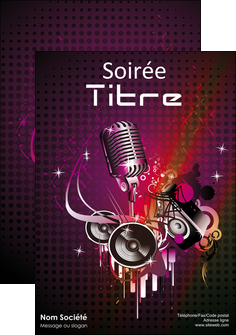 faire modele a imprimer affiche discotheque et night club abstract adore advertise MLIG15468