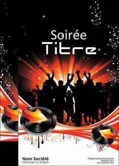 modele en ligne affiche discotheque et night club abstract background banner MLGI15630
