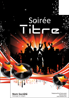 faire affiche discotheque et night club abstract background banner MLGI15632