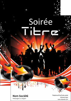 imprimer affiche discotheque et night club abstract background banner MLGI15634