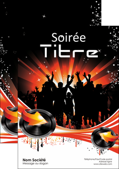 maquette en ligne a personnaliser flyers discotheque et night club abstract background banner MLGI15636