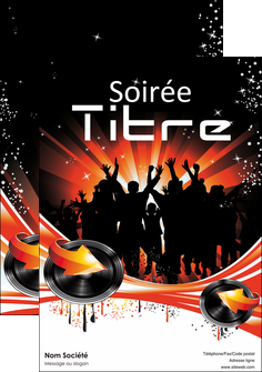 cree affiche discotheque et night club abstract background banner MLGI15638