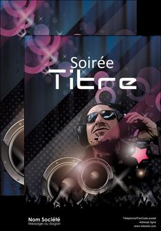 imprimer affiche discotheque et night club bal boite boite de nuit MLIG15916