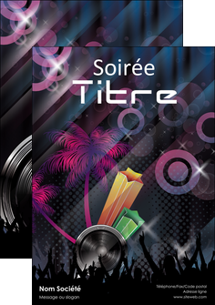 impression flyers discotheque et night club abstract background banner MLIG15926