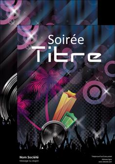 creation graphique en ligne affiche discotheque et night club soiree bal boite MID15928