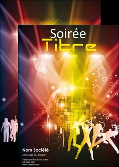 personnaliser maquette affiche discotheque et night club soiree bal boite MLIG15930