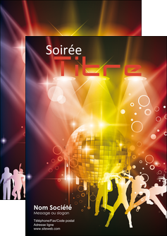 realiser flyers discotheque et night club soiree bal boite MLIG15932