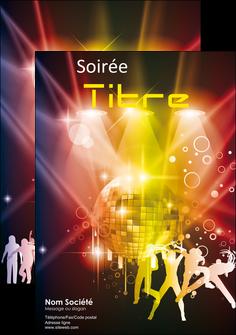 modele en ligne affiche discotheque et night club soiree bal boite MLIG15934