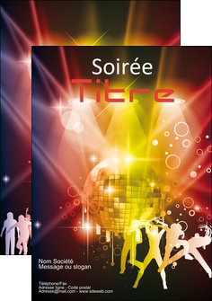 realiser flyers discotheque et night club soiree bal boite MLIG15936