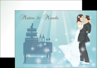 modele en ligne flyers mariage marier marie MIS16648