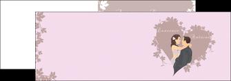 modele en ligne depliant 2 volets  4 pages  mariage carte mariage carte  de mariage MIS17676