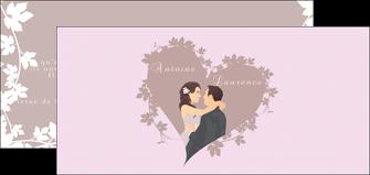 imprimerie flyers mariage carte mariage carte  de mariage MIS17678