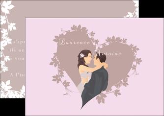 modele en ligne flyers mariage carte mariage carte  de mariage MIS17682